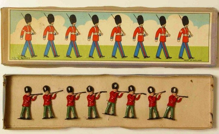 toy soldiers printable box top