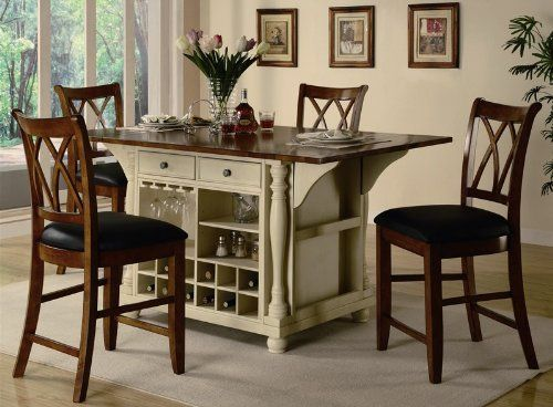 Delightful Buttermilk And Cherry Kitchen Island Collection By Coaster By Coaster Home  Furnishings. $1203.05. Some