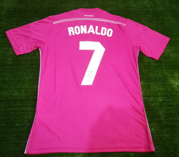 Winner Ballon d'Or 2014 Cristiano Ronaldo CR7 Real Madrid Player Version Size L #adidas #Jerseys