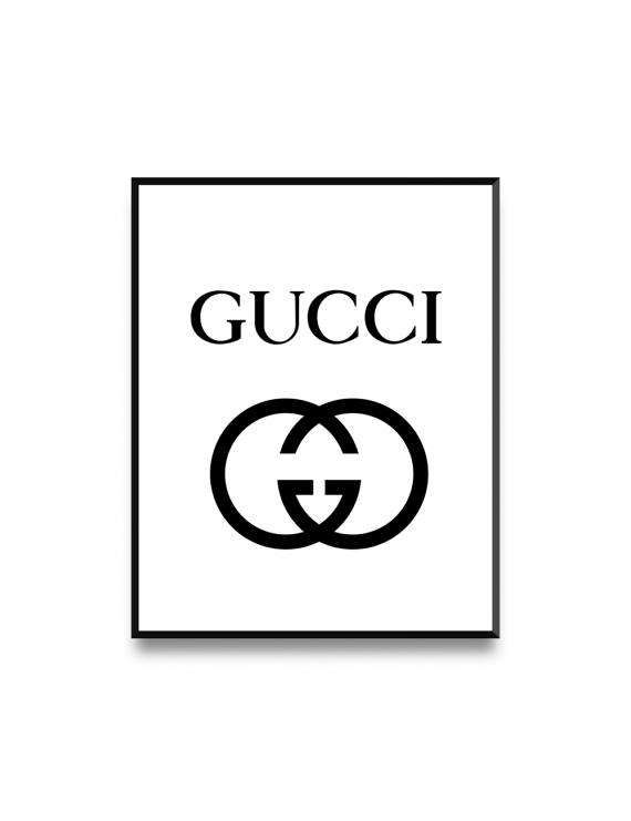 2c6f6603365b5 Gucci Print Fashion Illustration Gucci Logo Printable Gucci | Boy ...