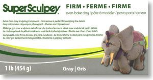 Super Sculpey Firm (Glay) (Material) Trident    114513