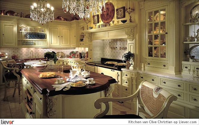 enchanting victorian style kitchen   Clive Christian Kitchen - Clive Christian stoelen & kasten ...