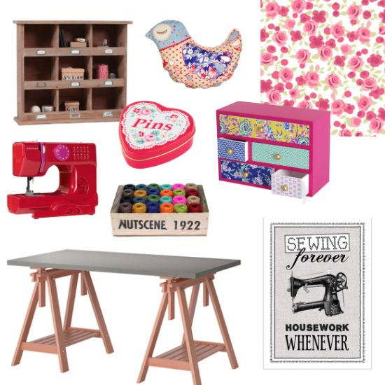 Craft room: Style up your craft corner with these pretty yet practical buys. Read more on housetohome.co.uk/styleathome