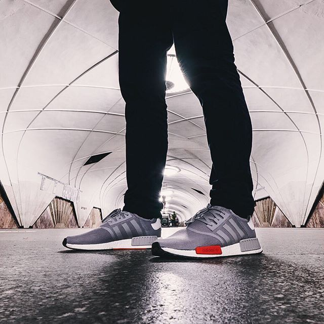 @Alexzeliko7 captures a forthcoming #NMD Runner in a Moscow subway station. Coming soon.