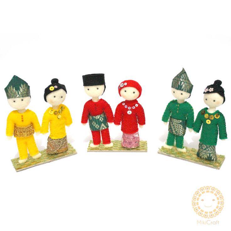 Riau melayu miniature dolls