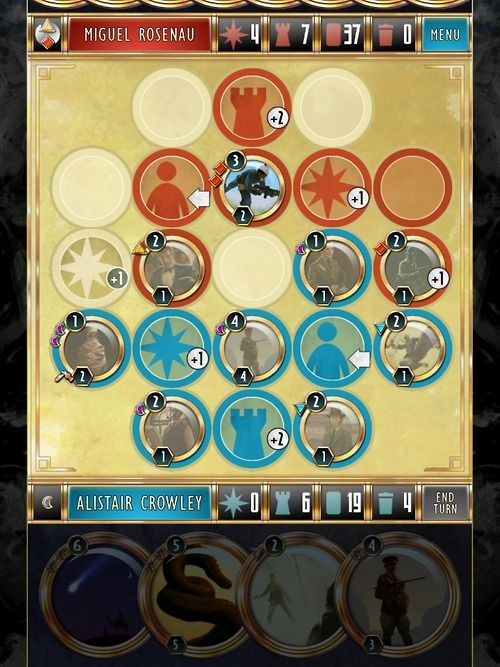 Cabals iOS card game