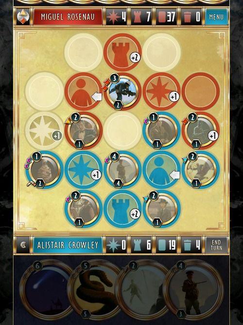 Cabals iOS card game