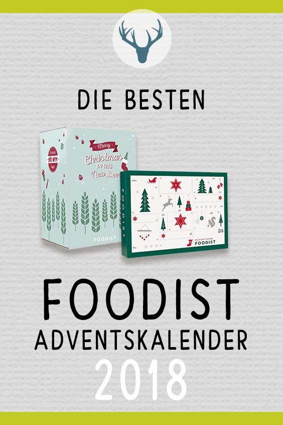 Foodist Weihnachtskalender.Foodist Adventskalender 2018 Adventskalender 2018