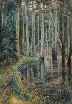 Forest Scene, 1909, Emily Carr.