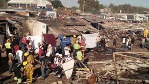 Puluhan Orang Tewas dalam Ledakan Kembang Api di Meksiko