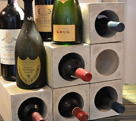 Concrete Wine Bunkers Give You Modular Wine Storage