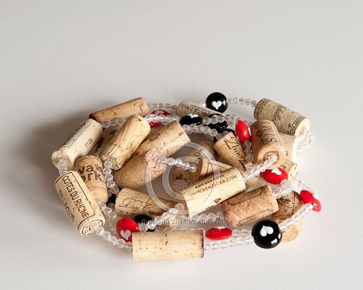 Wine Cork Garland, Garland, Bunco, casino party, Poker Party, Las Vegas Party, Vegas Decor by MaxplanationPhotos on Etsy