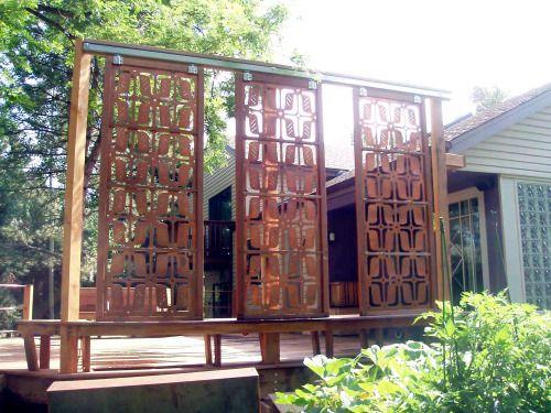 Garden Art Parasoleil Screens Amp Panels Gardens Copper