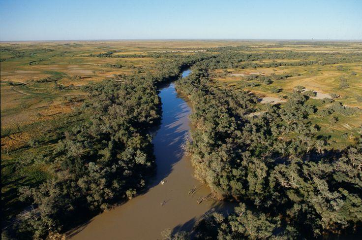 Flood Plain in the Australian Outback