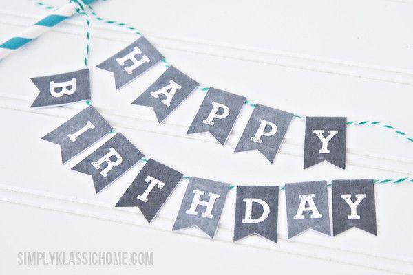 La Fiesta de Olivia | Imprimible de banderitas para pastel vintage | Decoración de fiestas infantiles, bodas y eventos