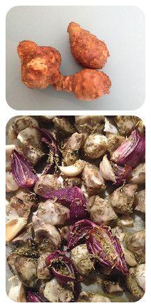Vergeten groente: recept voor aardperen uit de oven