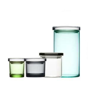Beautiful jars. Lovely colors.Via Apartment Therapy found at Unica by IIttala.