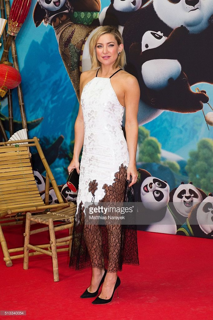 Ideal Kate Hudson attends the German premiere of the film uKung Fu Panda at Zoo Palast on March in Berlin Germany