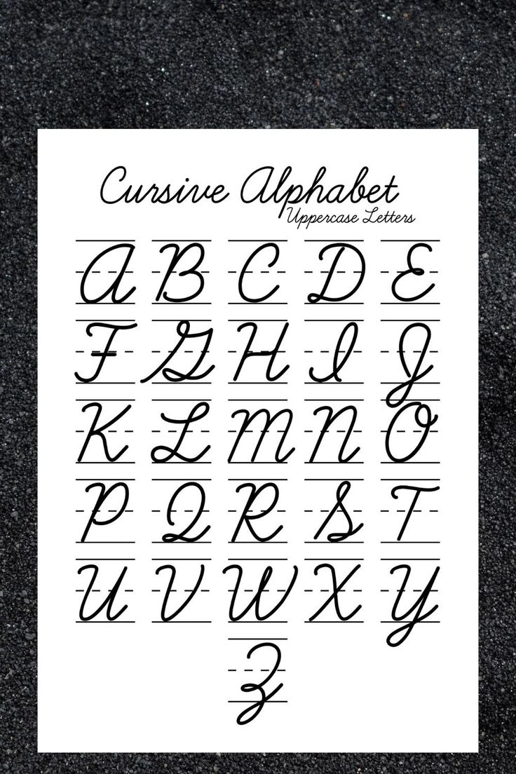 Cursive Tracing Worksheets Practice Words Handwriting