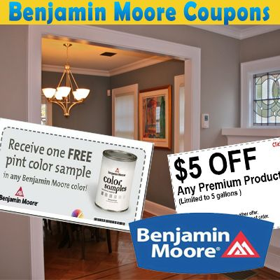 Benjamin Moore Coupons