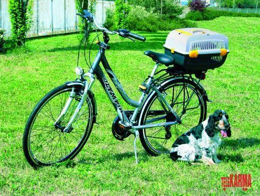 Transporter rowerowy Aquael Pet Inn dla psów i kot...