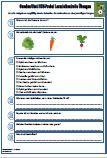 Gemüse / Obst Verschiedene Fragen zu dem Thema: Obst, GemÜse, HSU, Klassenarbeit, Arbeitsblatt,Lernzielkontrolle, Sachkunde, Sachunterricht, Schulaufgabe, Schulprobe, Übungen, 2Klasse, PDF, Fragen Die Arbeitsblätter sind eine optimale Vorbereitung für eine Klassenarbeit / Schulprobe / Schularbeit.