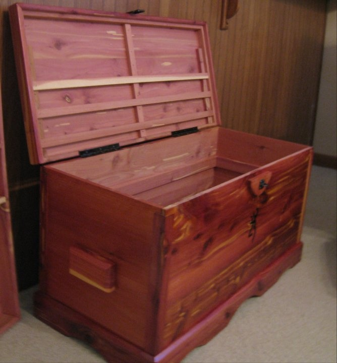 eastern red cedar makes beautiful and longlasting chests for generations to enjoy