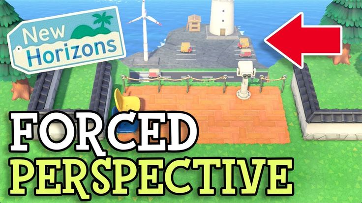 Animal Crossing New Horizons FORCED PERSPECTIVE - Create ...