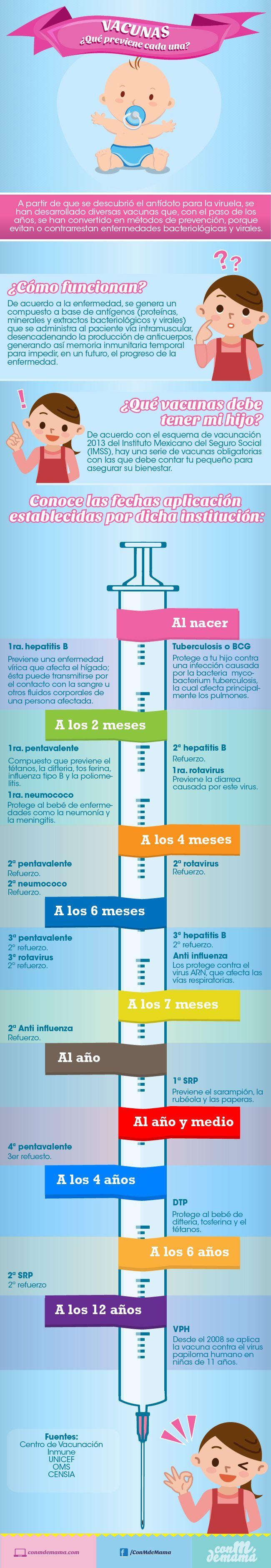 Vacunas  ¿que previene cada una?