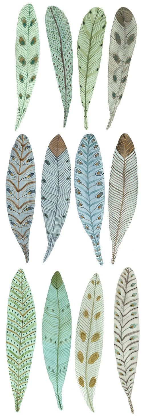 Feathers printable