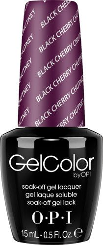 OPI Gel GCI43 Black Cherry Chutney