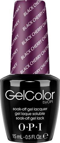 OPI Gel GCI43 Black Cherry Chutney