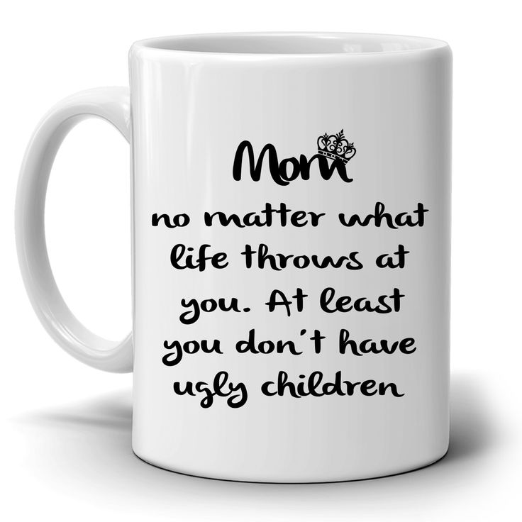 Funny Mother Daughter Gifts Coffee Mug, Unique Presents for Grandmother and Mama Birthday, Mothers Day and Thank You Gift for Mom