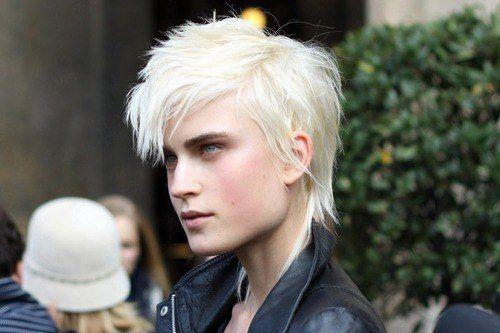 Jana Knauerova #androgyny #tomboy