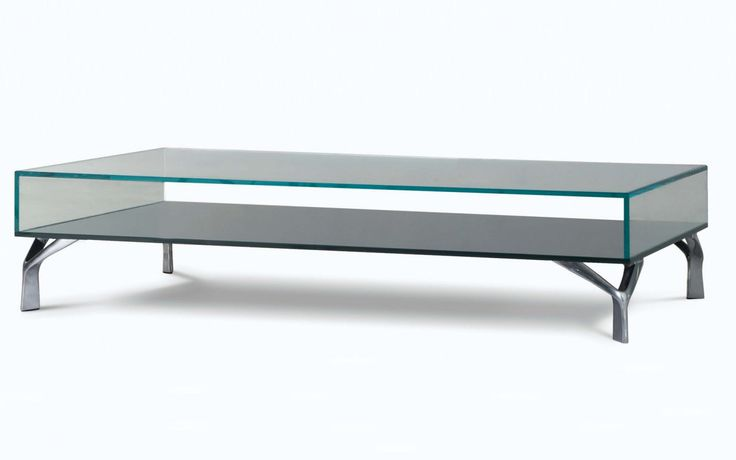 Speed up glass coffee table table basse en verre for roche bobois collect - Table basse roche bobois ...