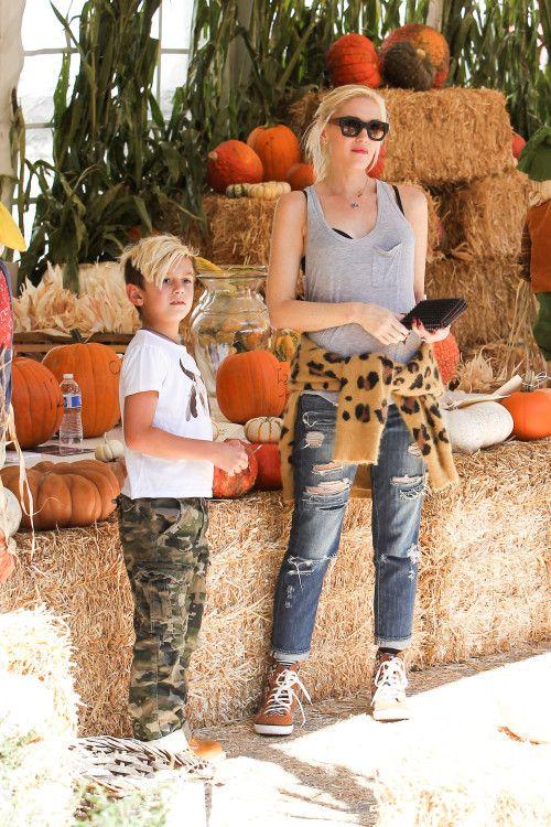 Gwen Stefani with Kingston