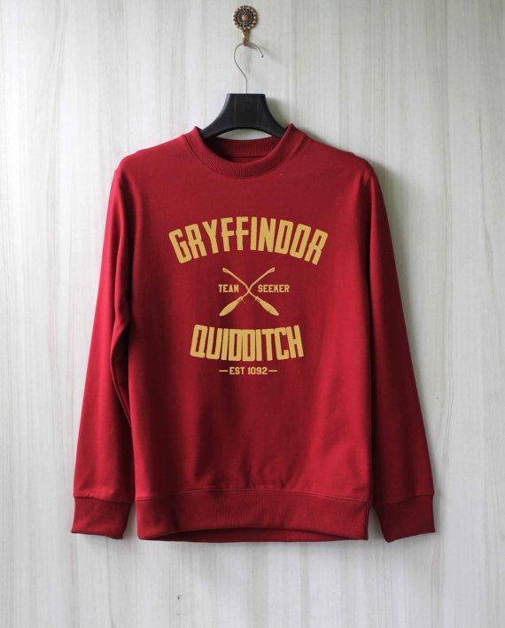 Gryffindor Quidditch Harry Potter Shirt Sweatshirt by SaBuy