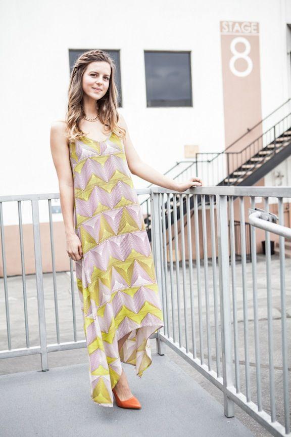 Pop of Color Heels + a Braid-Band  behind the scenes of KTLA with Taye Hansberry up on my blog: http://takeaim.nu/ktla-morning-news/