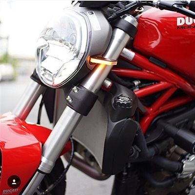 Ducati Monster 696 Front Turn Signals