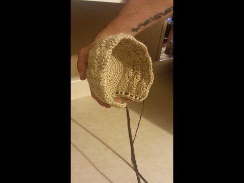 CROCHET How to #Crochet Newborn Baby Bonnet - Easy crochet #TUTORIAL #82 LEARN CROCHET - YouTube