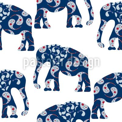 Sold this pattern! #elephant #patchwork #design