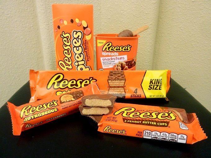 """アメリカの国民的お菓子「リーズ」。Love american confectionery """"Reese's""""!"""