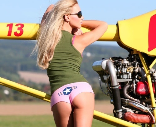 nude girls and airplanes
