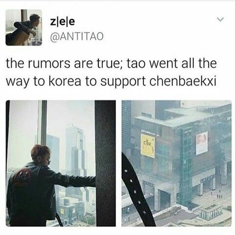 awwww. why can't all of exo just get back together. this is too bitter sweet >>> Because SM is a bunch of dickweed CEOs who hate happiness