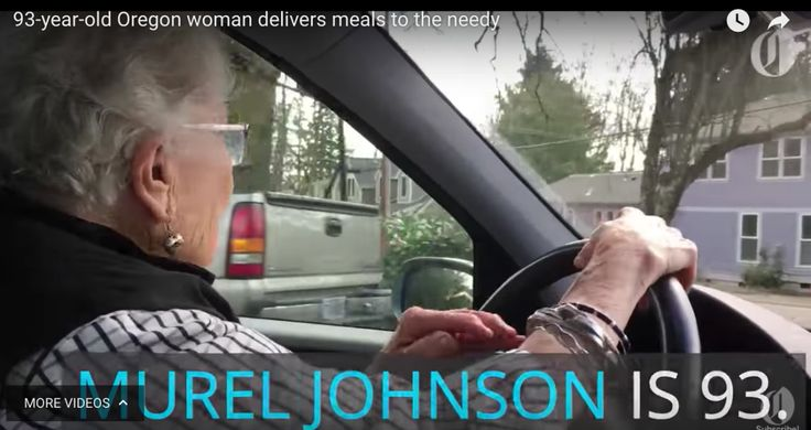 Murel Johnson began volunteering for Meals on Wheels in Oregon when she was 77. She has been delivering meals every Friday now for 16 years. Her work not only ensures older adults eat well but prom…