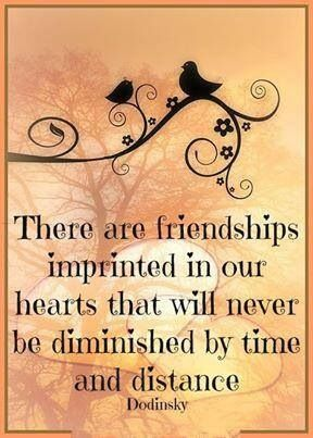 Friendhips imprinted in our hearts