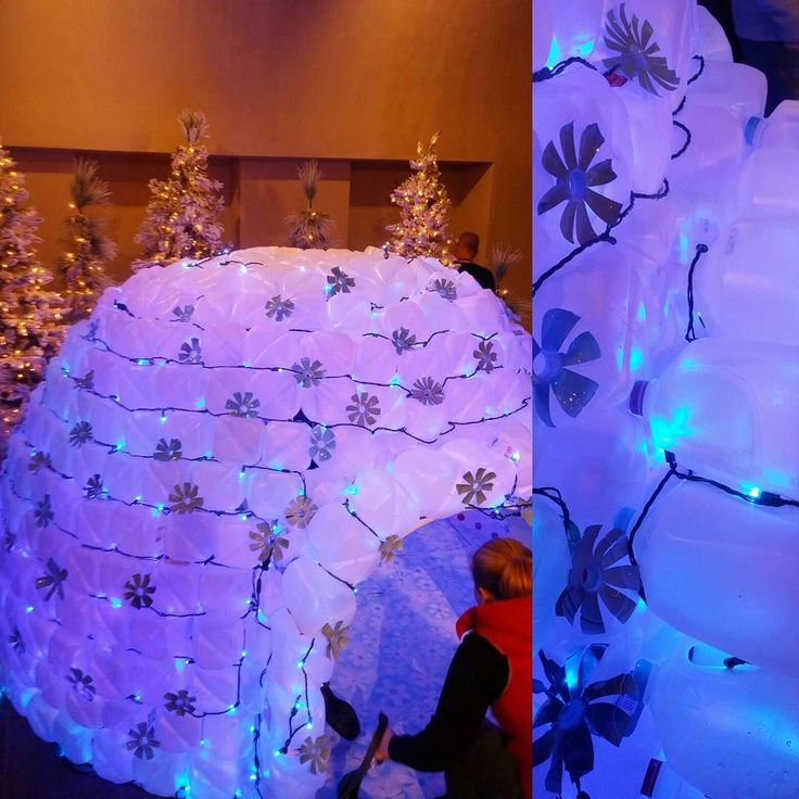 #towerhill I am totally making a milk jug igloo #awesome. Winter lights festival is so Wonderfull. by erikantelman