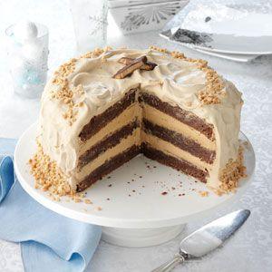 Φανταστική τούρτα μόκα