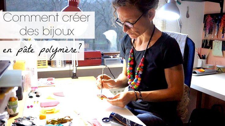 Création de bijoux en pâte polymère avec Isabelle (artisanat) (w/sub)