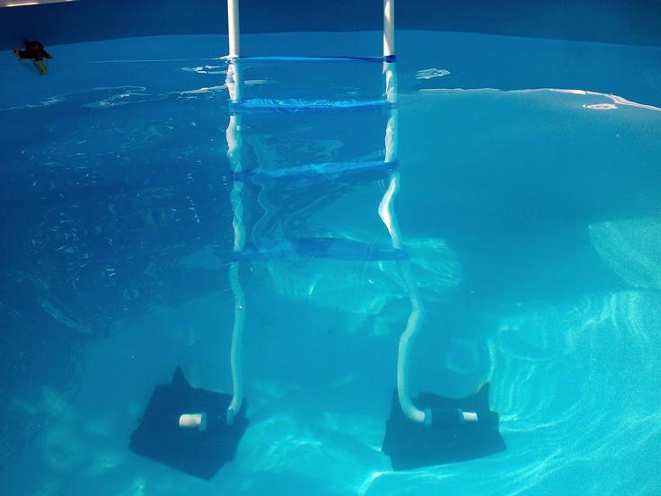 15 mejores im genes sobre escaleras piscinas en pinterest for Escalera piscina desmontable